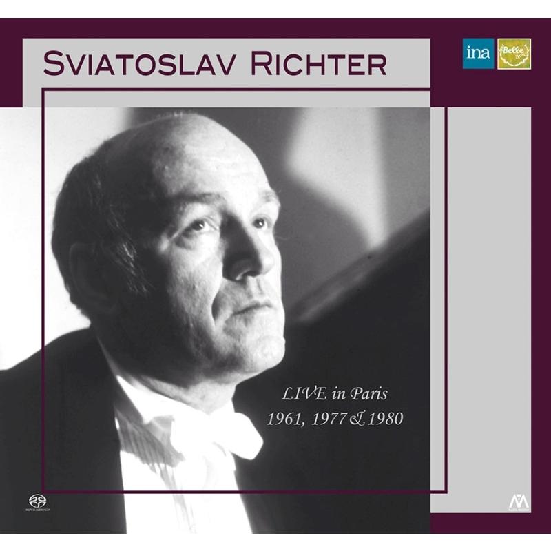 スヴィヤトスラフ・リヒテル/ライヴ・イン・パリ 1961、1977&1980(シングルレイヤー)