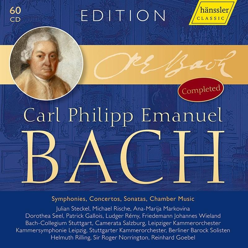 カール・フィリップ・エマヌエル・バッハ・エディション〜シンフォニア、協奏曲、ソナタ、室内楽曲 完全版(60CD)