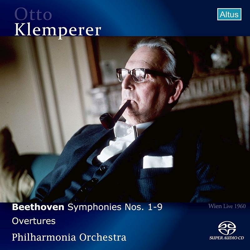 交響曲全集 オットー・クレンペラー&フィルハーモニア管弦楽団(1960年ウィーン・ライヴ)(2SACDシングルレイヤー)(2021年リマスター)
