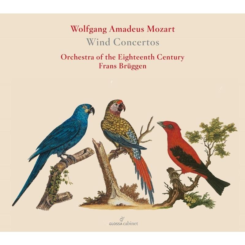 管楽器のための協奏曲集 フランス・ブリュッヘン&18世紀オーケストラ、エリック・ホープリッチ、トゥーニス・ファン・デア・ズヴァールト、他