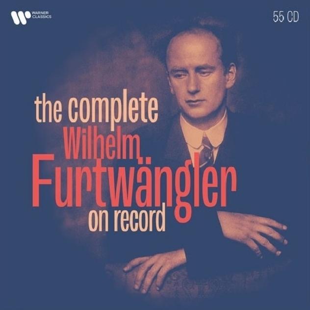 ヴィルヘルム・フルトヴェングラー 正規レコード用録音集大成 ベルリン・フィル、ウィーン・フィル、フィルハーモニア管弦楽団、他(55CD)