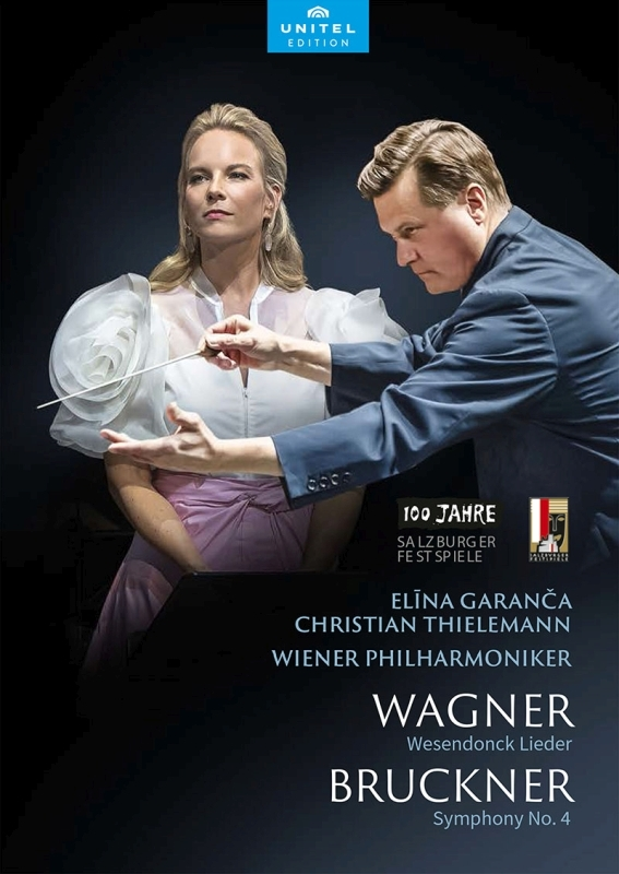 ブルックナー:交響曲第4番『ロマンティック』、ワーグナー:ヴェーゼンドンク歌曲集 クリスティアーン・ティーレマン&ウィーン・フィル、ガランチャ(日本語解説付)