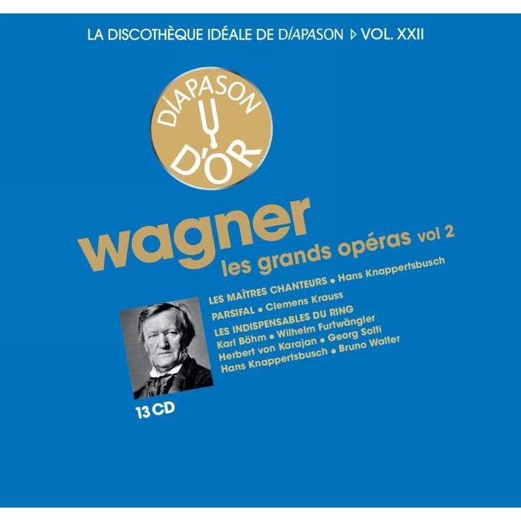 オペラ集 第2集 マイスタージンガー(クナッパーツブッシュ&バイエルン 1955)、パルジファル(クレメンス・クラウス&バイロイト 1953)、『指環』ハイライト(13CD)