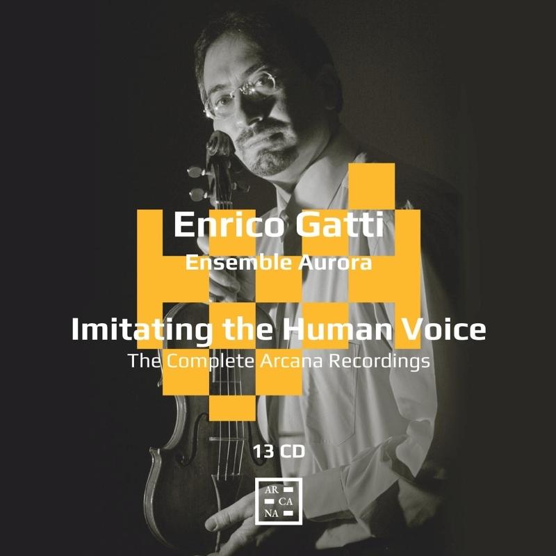 人の声のごとく〜エンリコ・ガッティ『ARCANA』レーベル全録音(13CD)