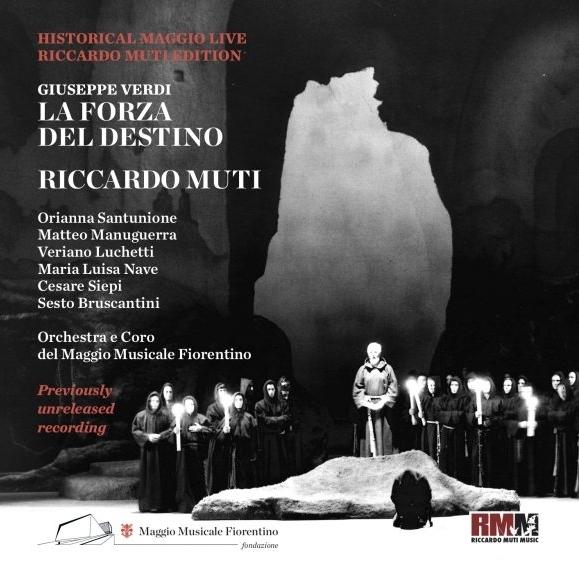 『運命の力』全曲 リッカルド・ムーティ&フィレンツェ五月祭、ヴェリアーノ・ルケッティ、チェーザレ・シエピ、他(1974 モノラル)(2CD)