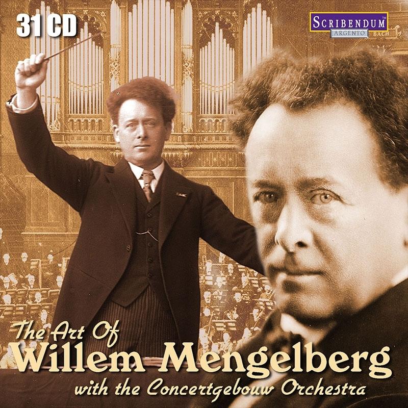 ウィレム・メンゲルベルクの芸術 with コンセルトヘボウ管弦楽団(31CD)