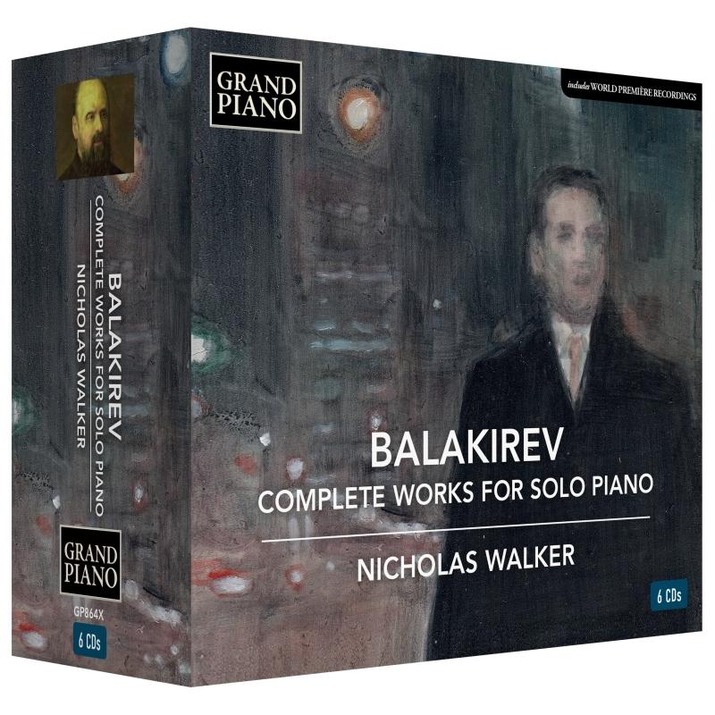 独奏ピアノのための作品全集 ニコラス・ウォーカー(6CD)