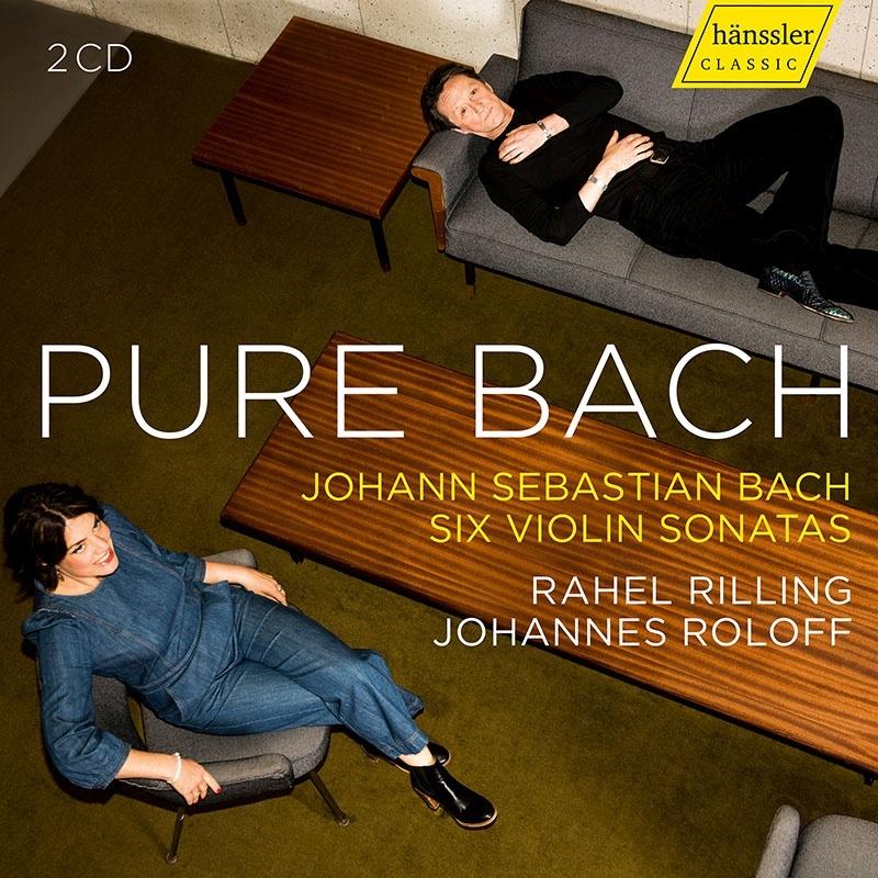 6つのヴァイオリン・ソナタ ラヘル・リリング、ヨハネス・ロロフ(2CD)