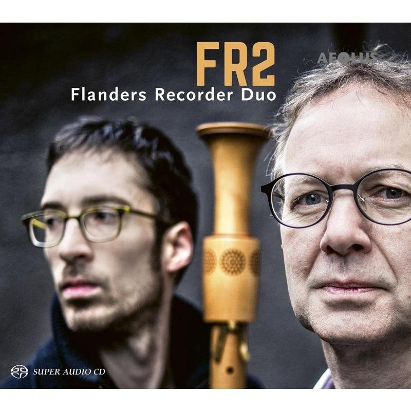 FR2〜リコーダー二重奏曲集 フランダース・リコーダー・デュオ