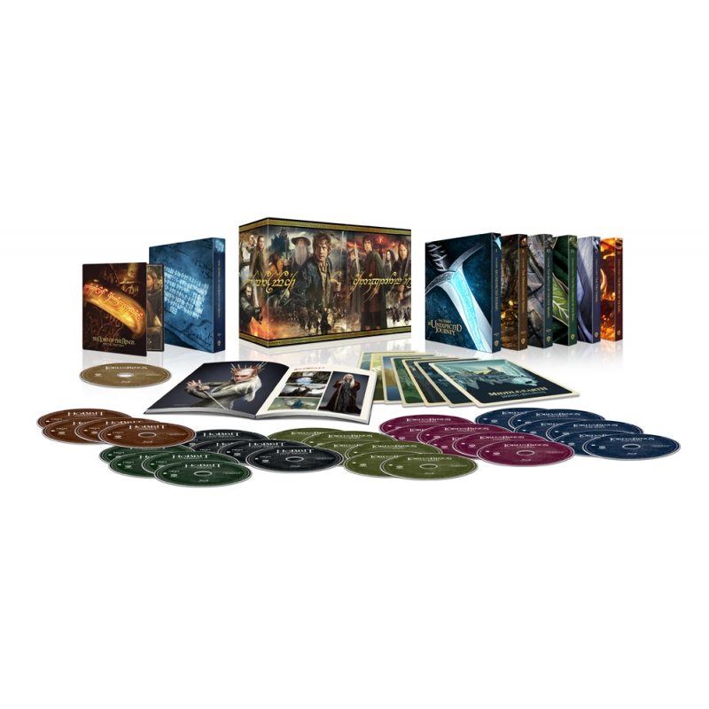 【1000セット限定生産】中つ国 [ロード・オブ・ザ・リング/ホビット]アルティメット・コレクターズ・エディション<4K ULTRA HD&HDデジタル・リマスター ブルーレイセット