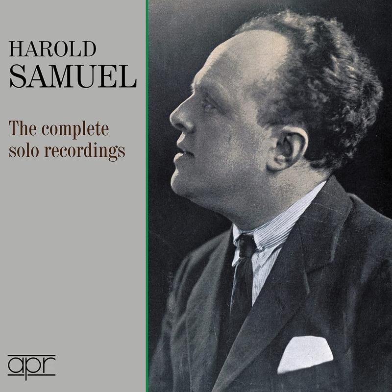 ハロルド・サミュエル/ソロ録音全集(2CD)