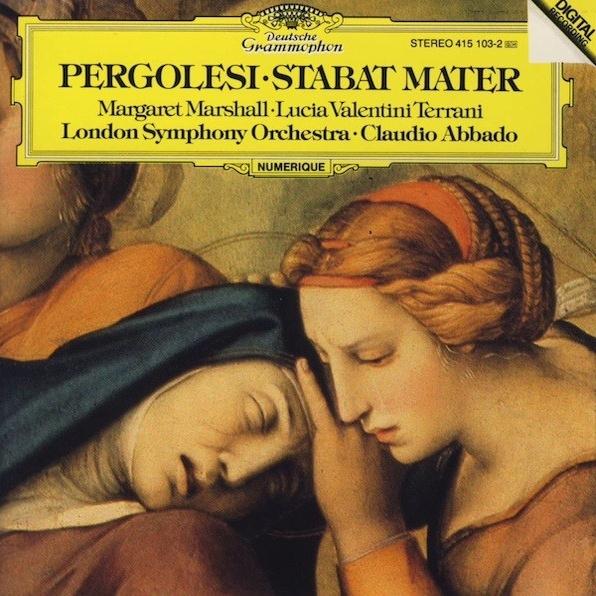 スターバト・マーテル クラウディオ・アバド&ロンドン交響楽団 ...