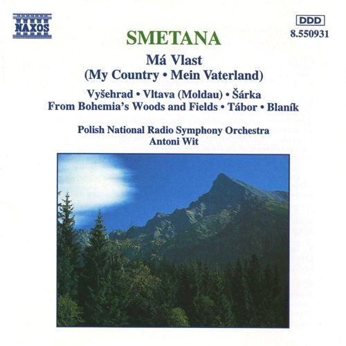 連作交響詩『わが祖国』全曲 アントニ・ヴィット&ポーランド国立放送交響楽団