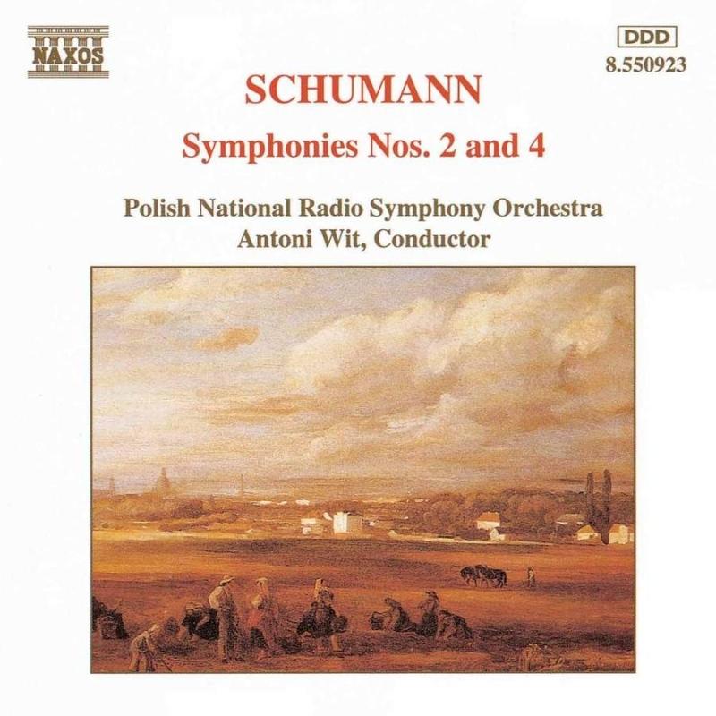 交響曲第2番、第4番 アントニ・ヴィット&ポーランド国立放送交響楽団