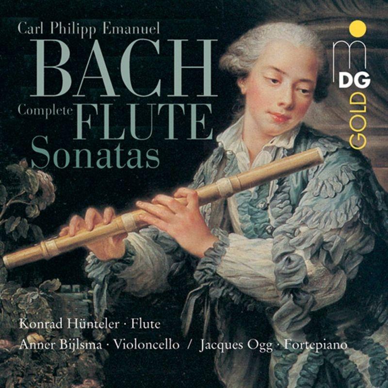 Comp.flute Sonatas: Huntler(Fl)Bylsma(Vc)Ogg(Fp)