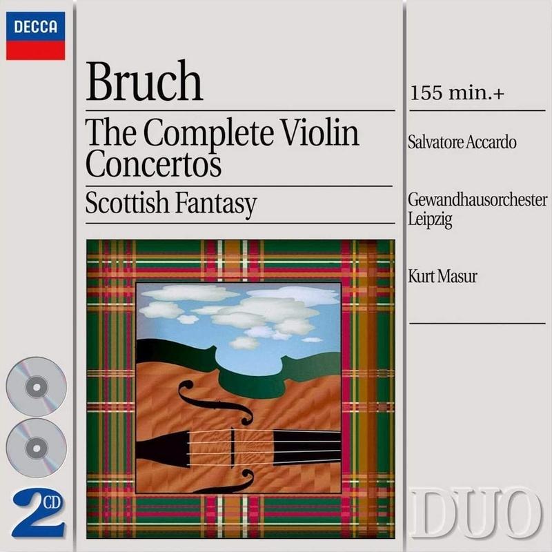 ヴァイオリン協奏曲全集 アッカルド、マズア&ライプツィヒ・ゲヴァントハウス管