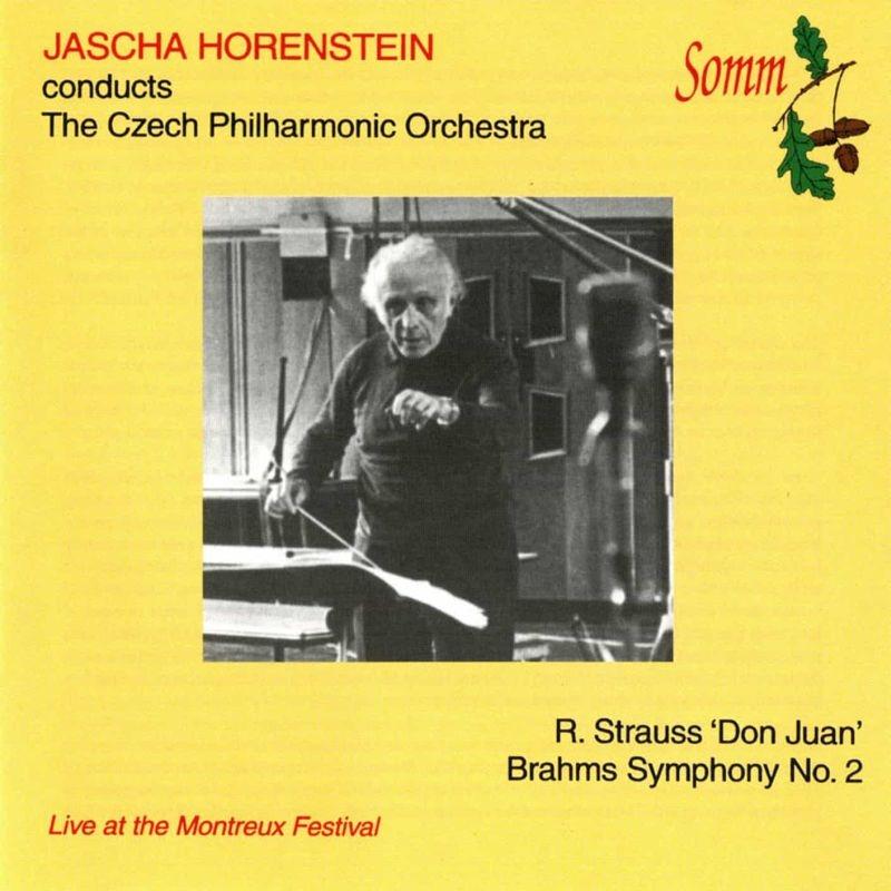 ブラームス:交響曲第2番、R.シュトラウス:ドン・ファン ヤッシャ・ホーレンシュタイン&チェコ・フィル(1966ステレオ)