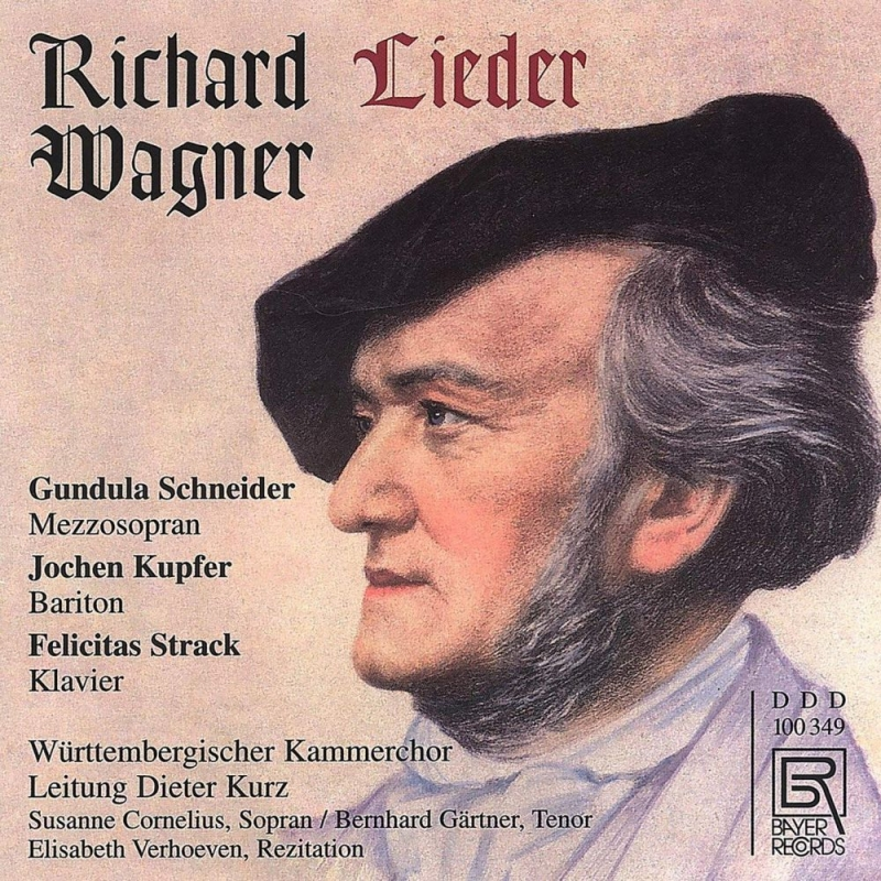 歌曲全集 グンドゥラ・シュナイダー、ヨッヘン・クプファー、フェリチタス・ストラック、他