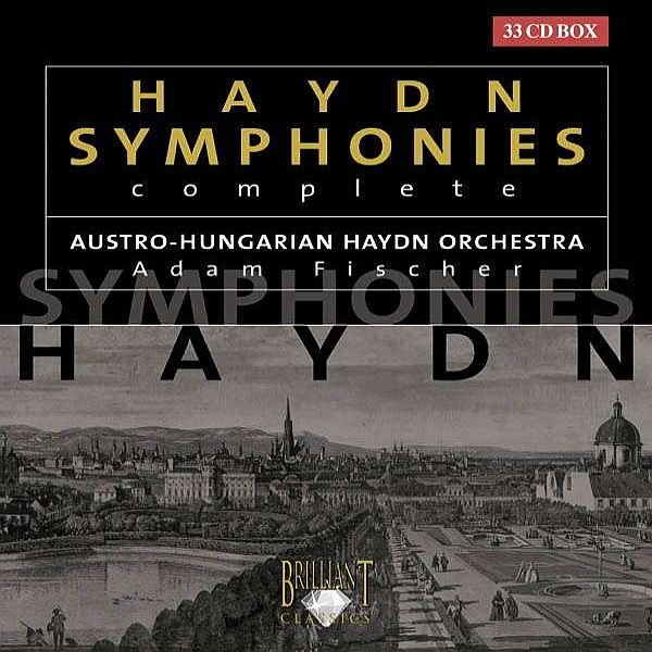交響曲全集 アダム・フィッシャー&オーストリア・ハンガリー・ハイドン管弦楽団(33CD)