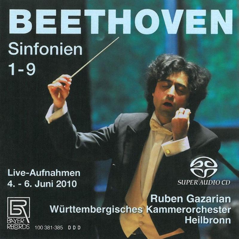 交響曲全集 ルーベン・ガザリアン&ヴュルテンベルク室内管弦楽団(5SACD)