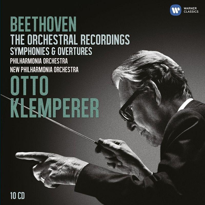 交響曲全集、序曲集 クレンペラー(10CD)