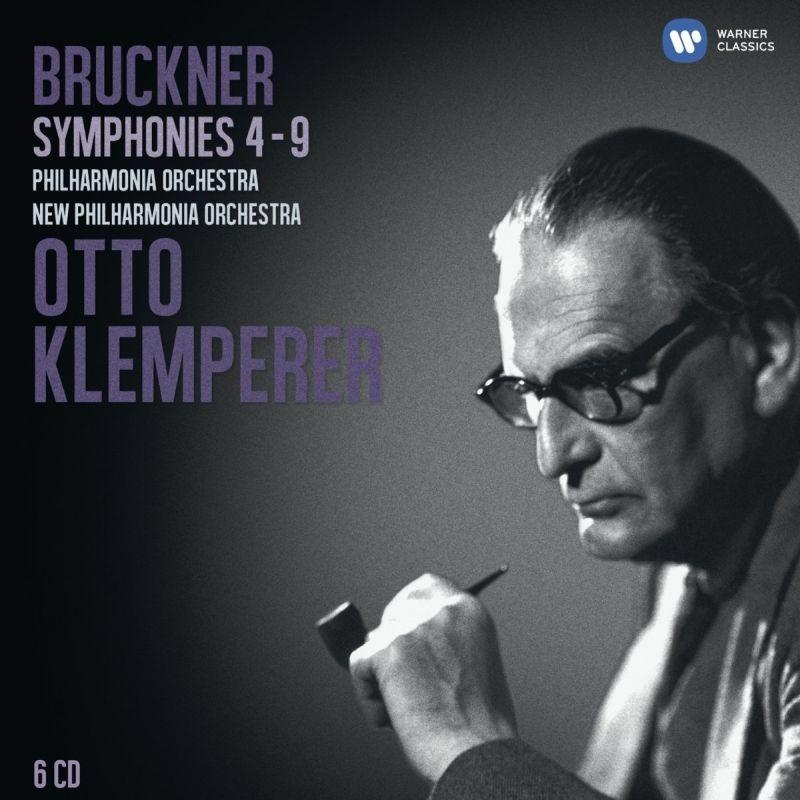 Symphonies Nos.4, 5, 6, 7, 8, 9 : Klemperer / Philharmonia, New Philharmonia (6CD)