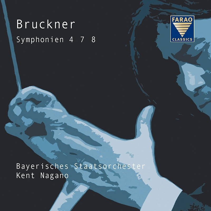 Symphonies Nos.4, 7, 8 : Nagano / Bavarian State Orchestra (4CD)