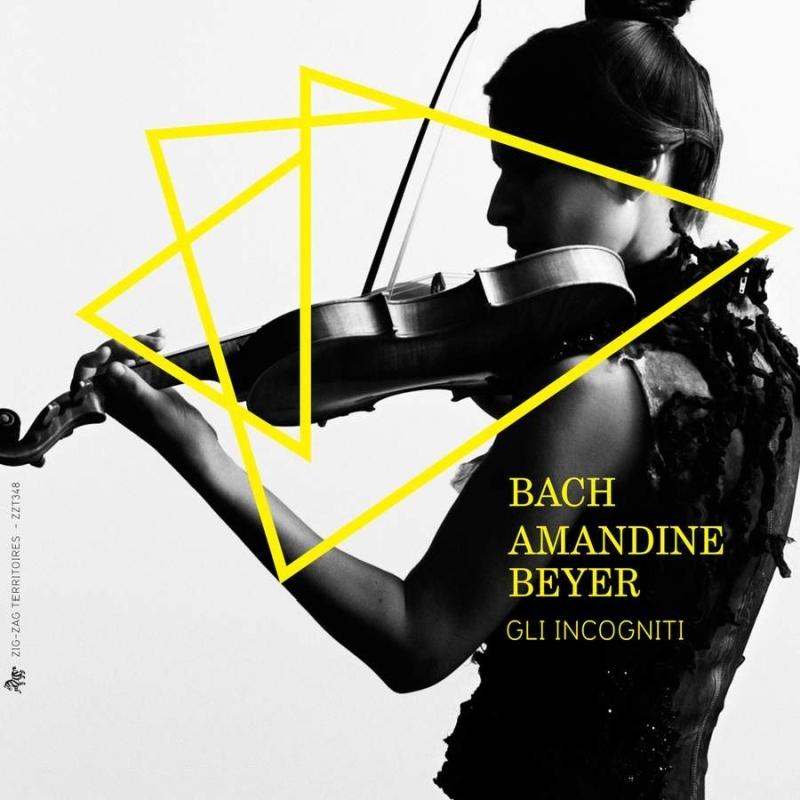 バッハ:無伴奏ヴァイオリンのためのソナタとパルティータ全曲、ヴァイオリン協奏曲集、C.P.E.バッハ:ソナタ集 アマンディーヌ・ベイエ、リ・インコニーティ、他(4CD)