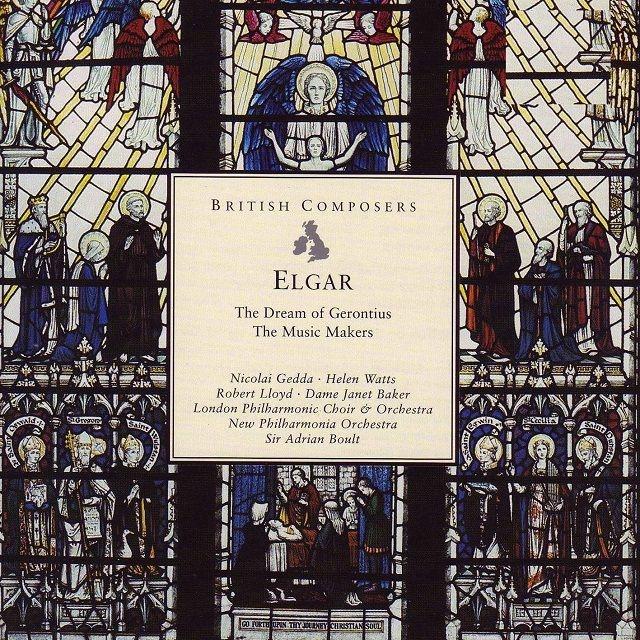 『ゲロンティアスの夢』『ミュージック・メイカーズ』 エードリアン・ボールト&ニュー・フィルハーモニア管弦楽団、ロンドン・フィル、ゲッダ、ベイカー、他(2CD)