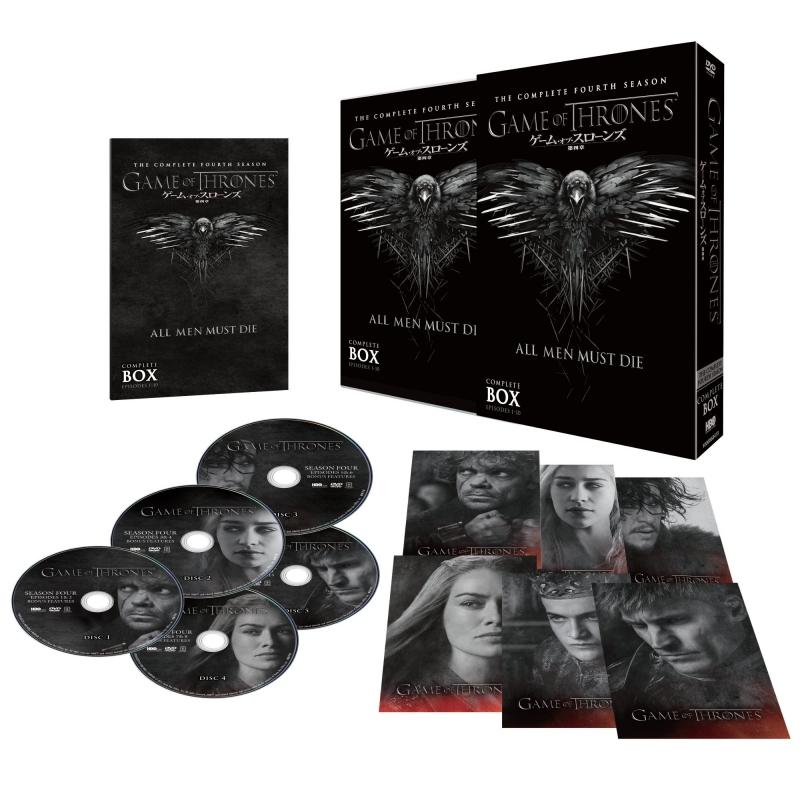 ゲーム・オブ・スローンズ 第四章:戦乱の嵐-後編-DVD コンプリート・ボックス