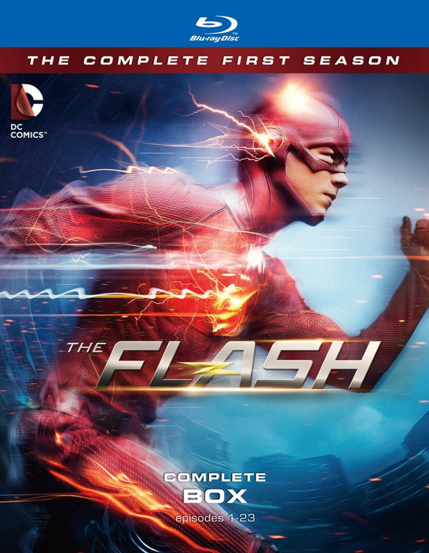 THE FLASH / フラッシュ <ファースト・シーズン> コンプリート・ボックス(4枚組)