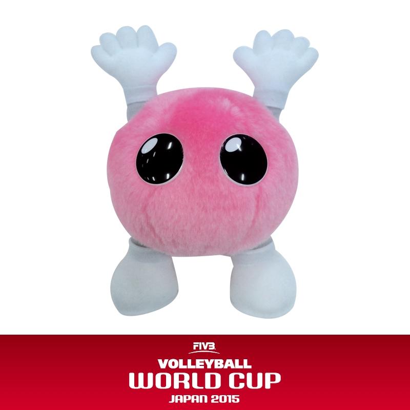 ぬいぐるみsサイズ ワールドカップバレー2015 バボちゃんグッズ