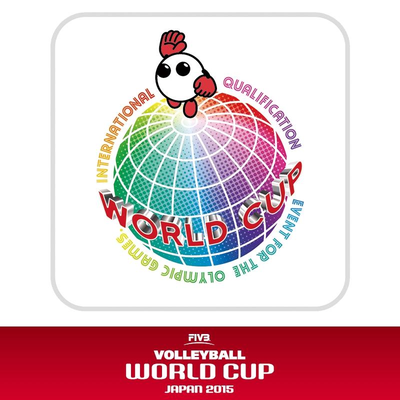 球体wcミニタオル ワールドカップバレー2015 バボちゃんグッズ