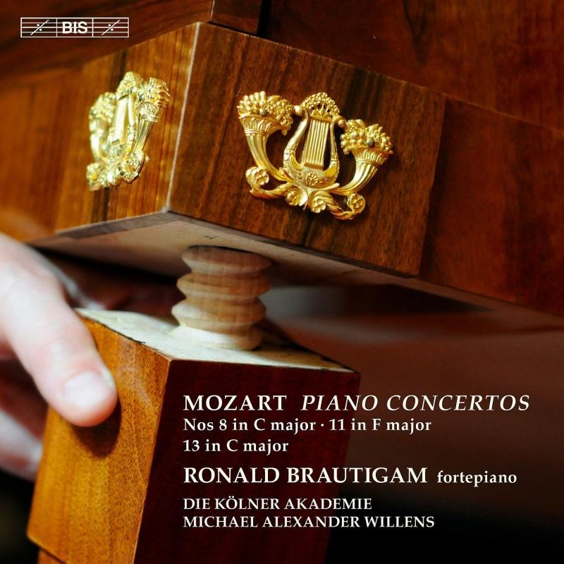 ピアノ協奏曲第8番、第11番、第13番 ブラウティハム、ウィレンズ&ケルン・アカデミー