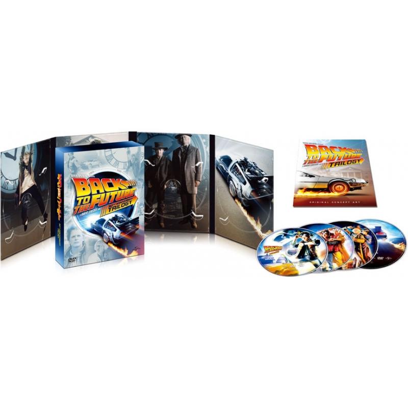 バック・トゥ・ザ・フューチャー トリロジー 30thアニバーサリー・デラックス・エディション DVD-BOX