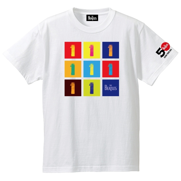 The Beatles 1 White Tee M