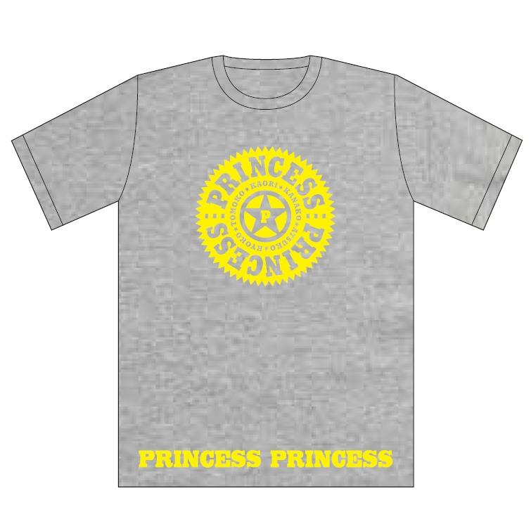 グレー(XL)Tシャツ/PRINCESS PRINCESS TOUR 2012-2016 再会 -FOR EVER-