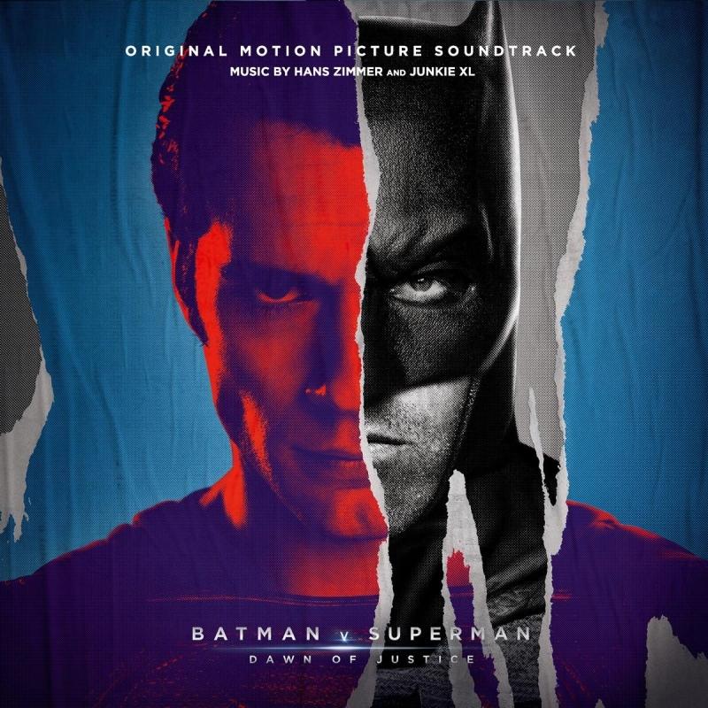 バットマン vs スーパーマン ジャスティスの誕生 Batman V Superman: Dawn Of Justice (3枚組/180グラム重量盤レコード)