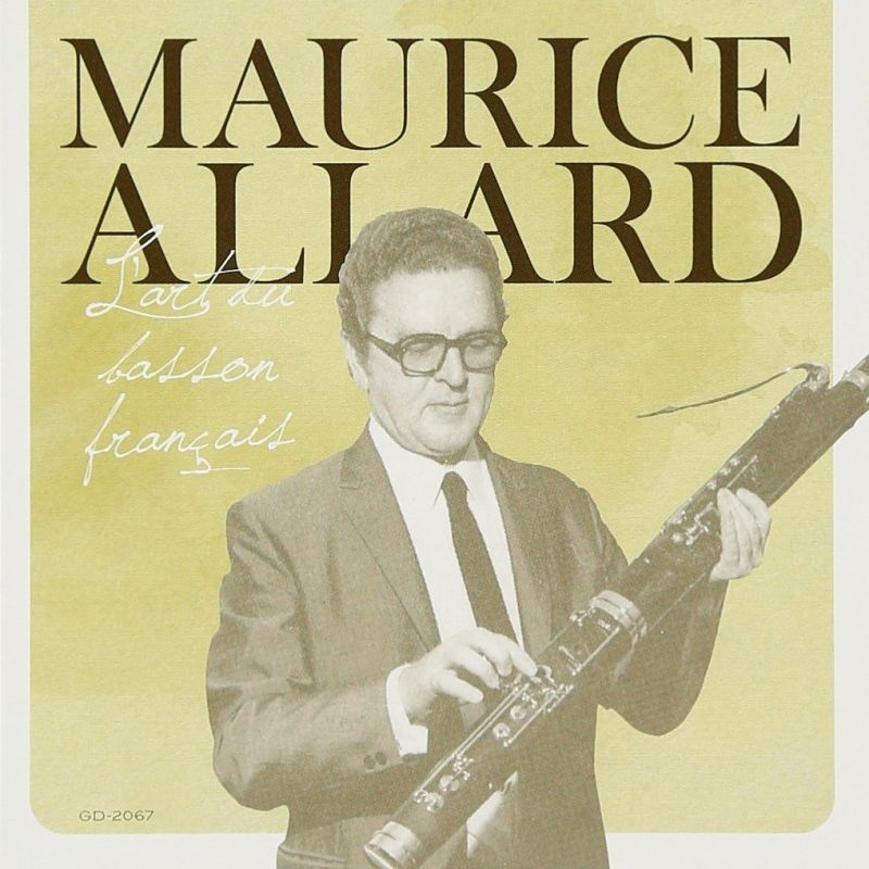 Maurice Allard: Basson Concertos