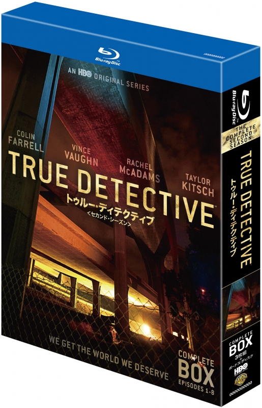 TRUE DETECTIVE/トゥルー・ディテクティブ <セカンド・シーズン> コンプ リート・ボックス<<4枚組>>
