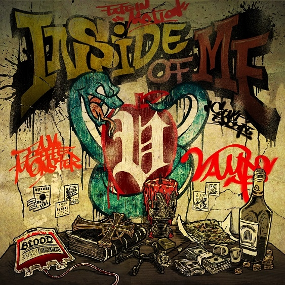 INSIDE OF ME feat.Chris Motionless of Motionless In White (CD+DVD)【初回限定盤A】