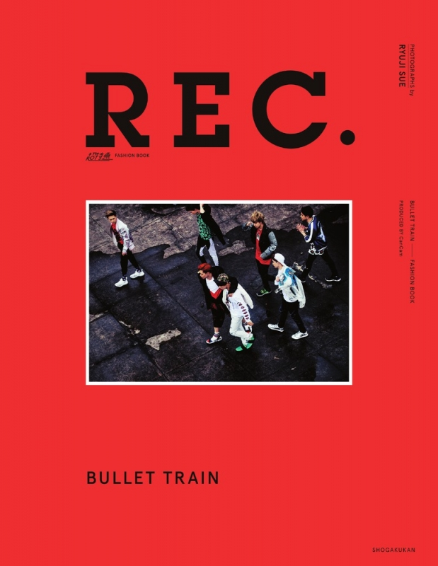 超特急 FASHION BOOK 「REC.」