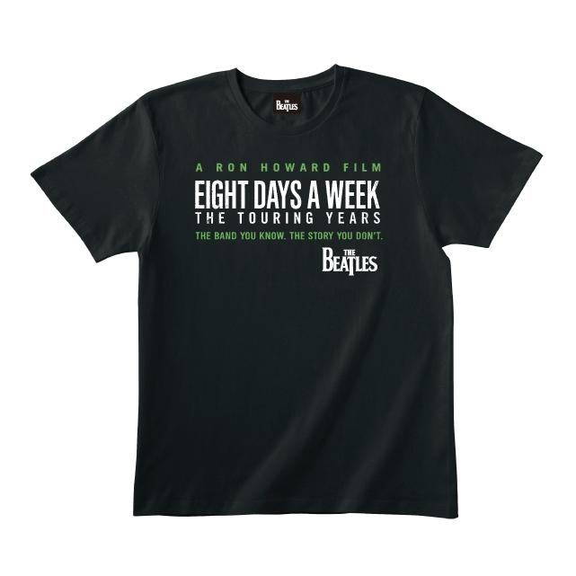 Eight Days A Week Logo Black Tee L