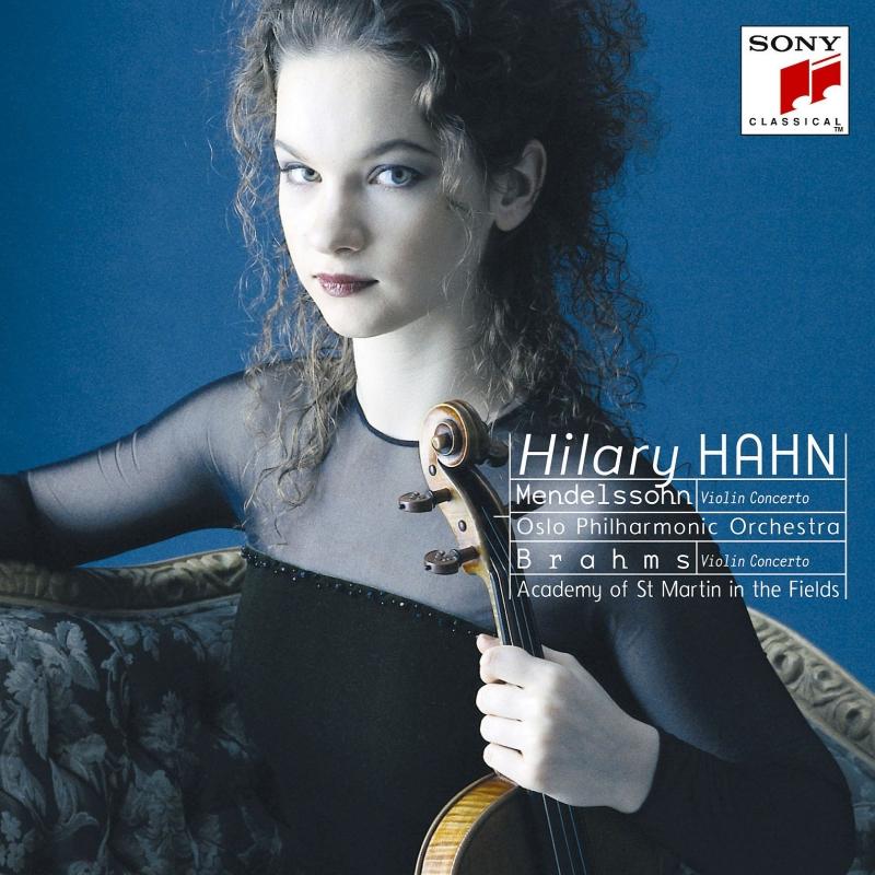 ブラームス:ヴァイオリン協奏曲、メンデルスゾーン:ヴァイオリン協奏曲 ヒラリー・ハーン、マリナー&アカデミー室内管、ウルフ&オスロ・フィル