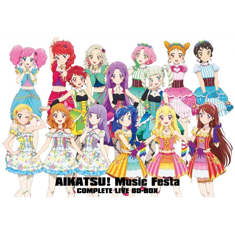 アイカツ!ミュージックフェスタ COMPLETE LIVE BD-BOX : STAR☆ANIS / AIKATSU ...