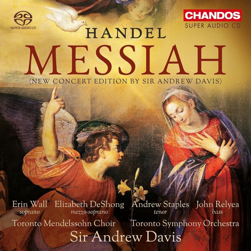 『メサイア』(A.デイヴィス校訂版) アンドルー・デイヴィス&トロント交響楽団(2015)(2SACD)