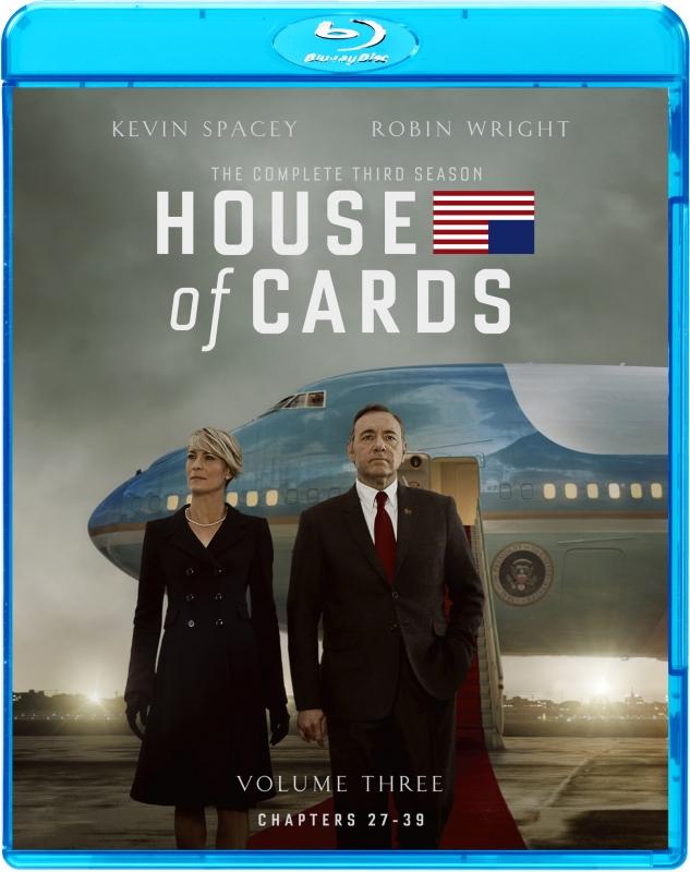 ハウス・オブ・カード 野望の階段 SEASON 3 ブルーレイ コンプリートパック