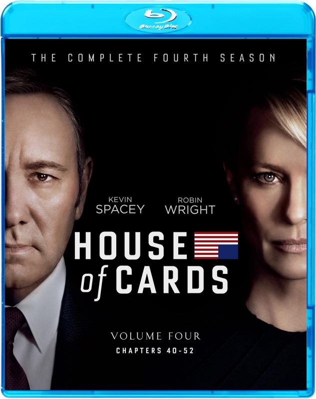 ハウス・オブ・カード 野望の階段 SEASON 4 ブルーレイ コンプリートパック
