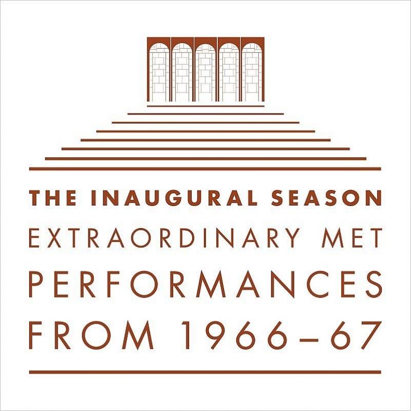 メトロポリタン歌劇場新開館シーズン1966-67公演ライヴ〜10のオペラ全曲&ハイライト(22CD)