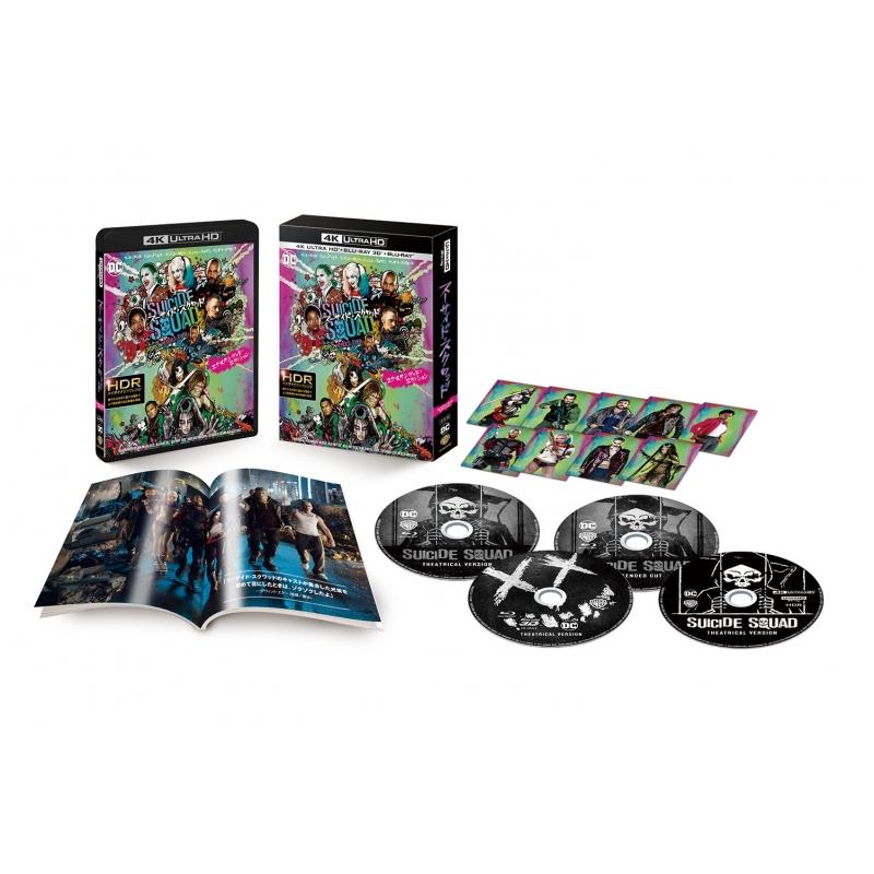 【初回仕様】スーサイド・スクワッド エクステンデッド・エディション(4枚組 /デジタルコピー付)(4K Ultra HD +Blu-ray)